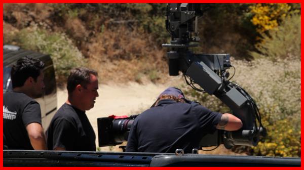 Crane camera operators